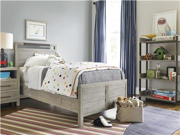 Thumbnail Twin Panel Bed