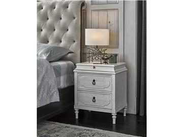 Thumbnail Cancale Bedside Chest - Linen