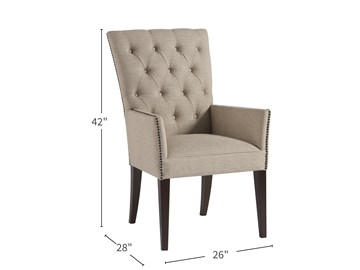 Thumbnail Upholstered Arm Chair