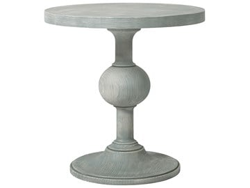Thumbnail Round Pedestal End Table