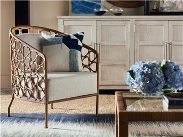 Escape-Coastal Living Home Collection Pebble Accent Chair ...