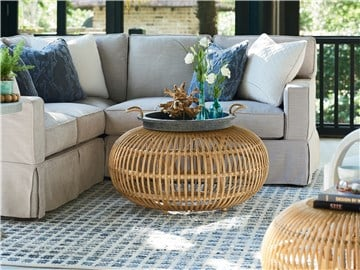 Thumbnail Rattan Scatter Table