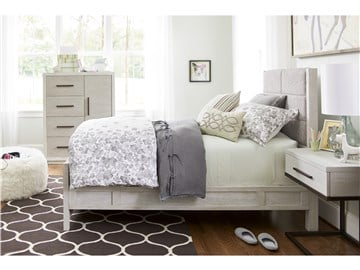 Thumbnail Upholstered Twin Bed