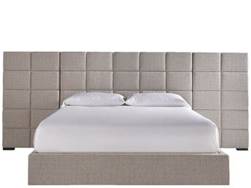 Thumbnail Bacall King Bed with Wall Panels