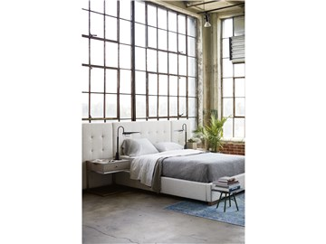 Thumbnail Brantley Queen Bed with Wall Panels