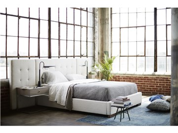 Thumbnail Brantley King Bed with Wall Panels