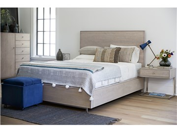 Thumbnail Tanner Queen Bed with Storage Rails