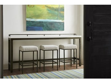 Thumbnail Essence Console Table with Stools