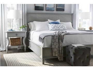 Thumbnail Woven Accent King Bed