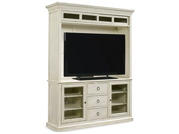 Thumbnail Entertainment Console with Hutch