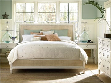 Thumbnail Woven Accent Queen Bed