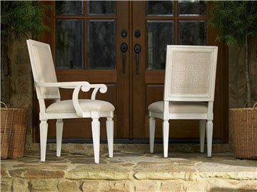 Thumbnail Woven Accent Arm Chair