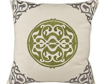 Thrive Medallion Pillow