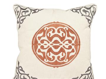Cinco Medallion Pillow
