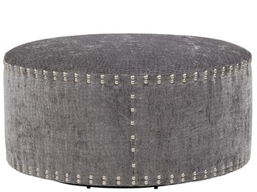 "Thumbnail Pi Cocktail Ottoman 42"" Round - Special Order"
