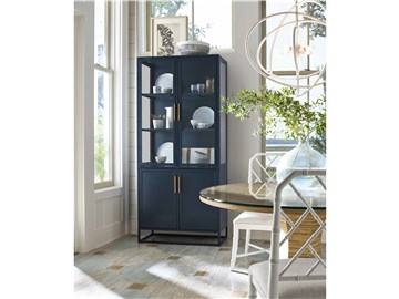 Thumbnail Santorini Tall Metal Kitchen Cabinet