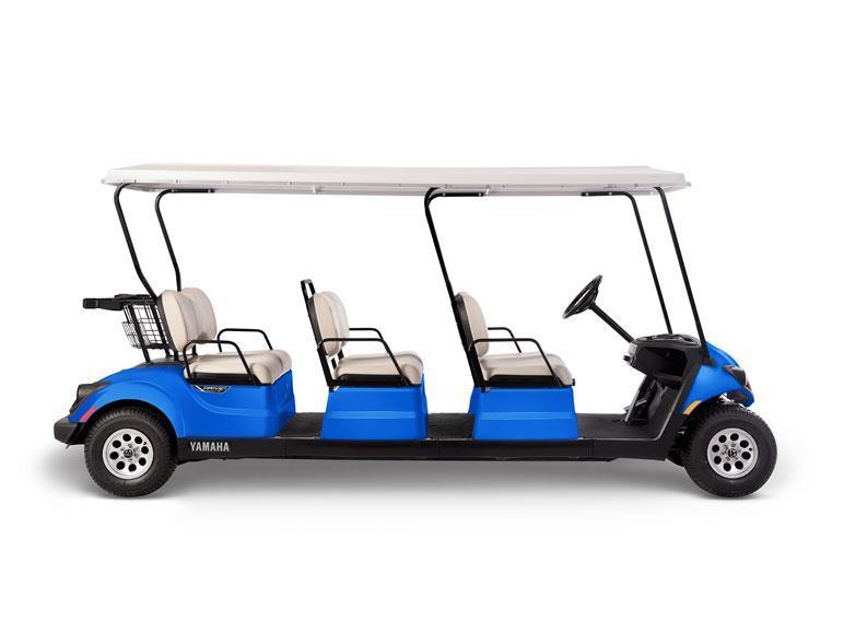 Aqua Blue 6 Passenger Example