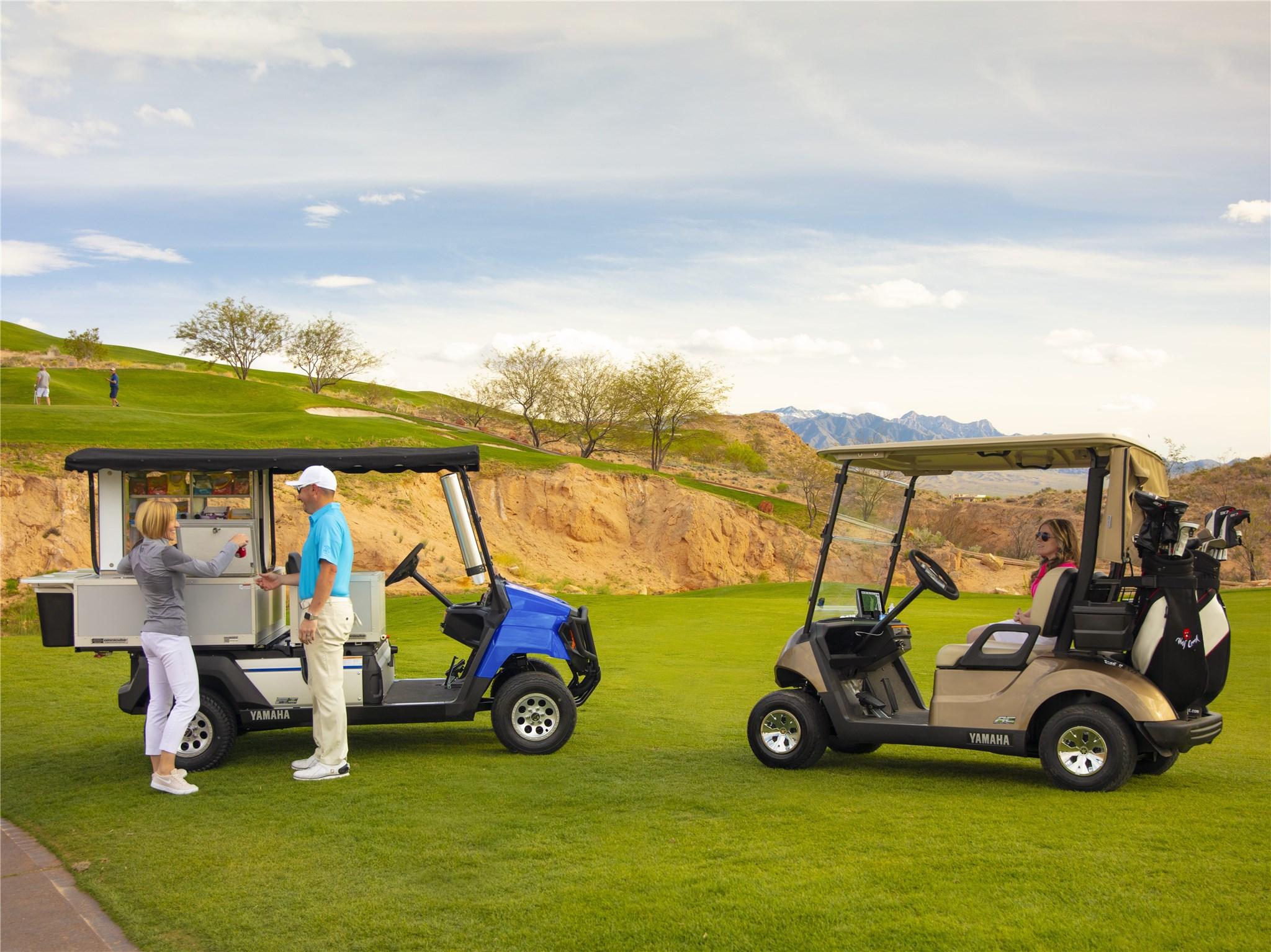 Golf UMAX Bistro™ - Yamaha Golf Car