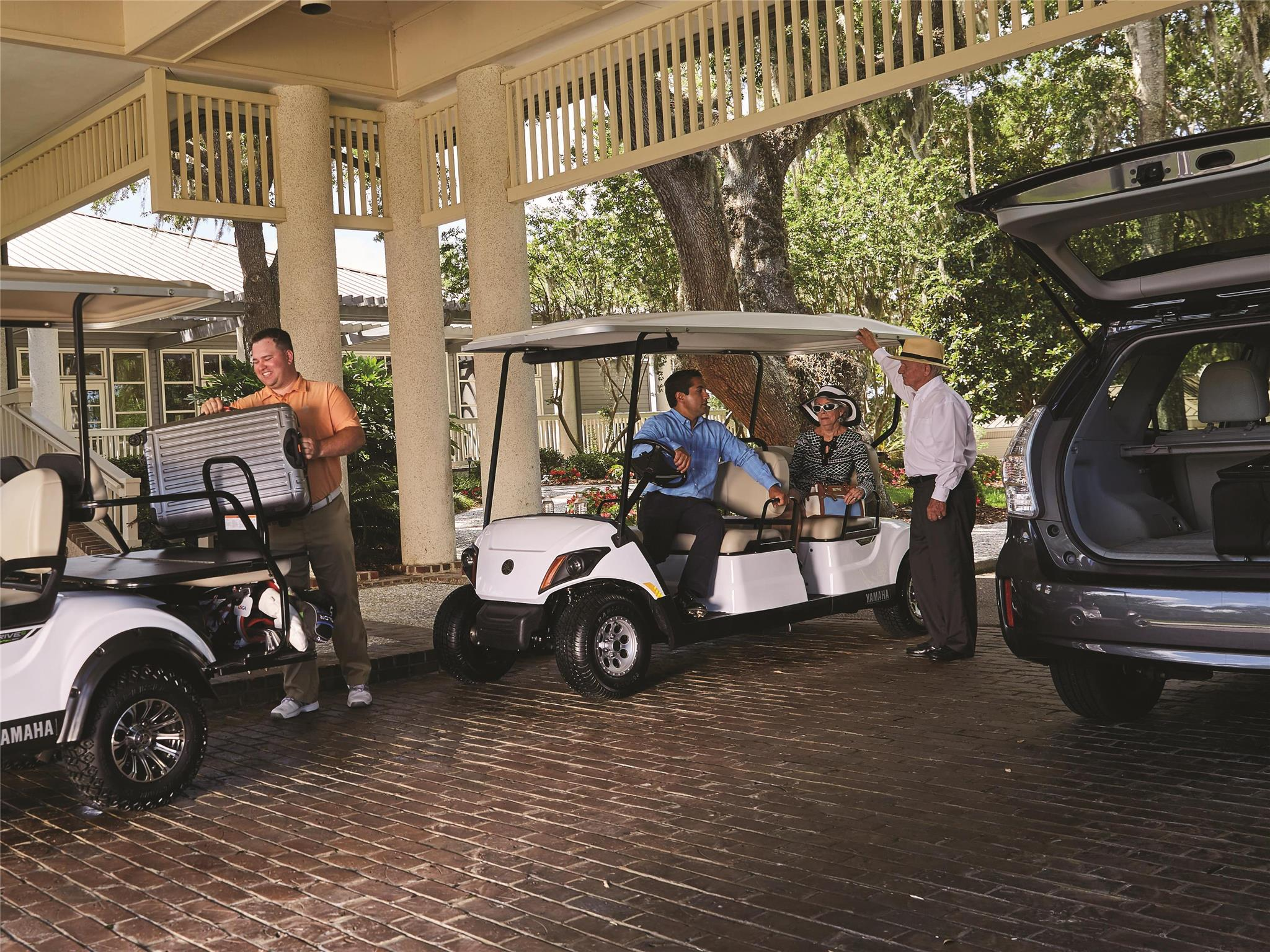 Personal Concierge 4 - Yamaha Golf Car