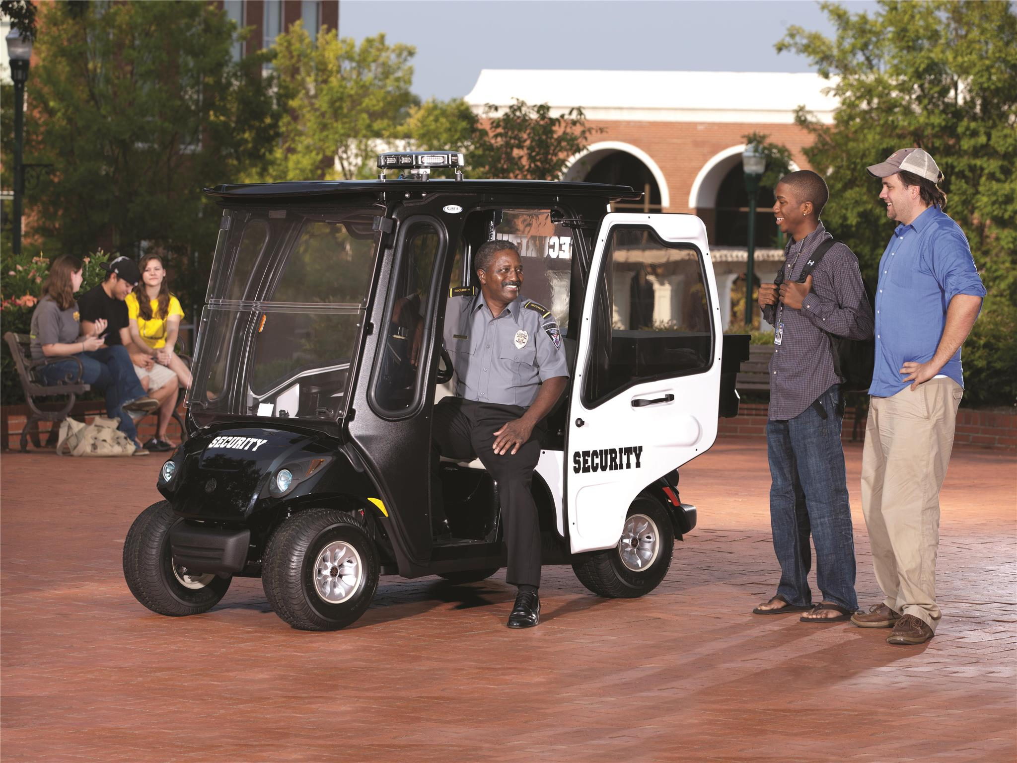 Commercial Security - Yamaha Golf Car on