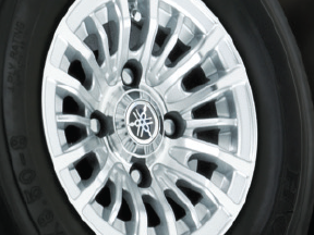 "10"" Casino Silver Wheels"