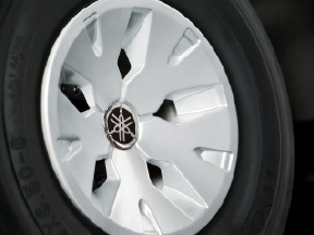Silver Wheel Covers