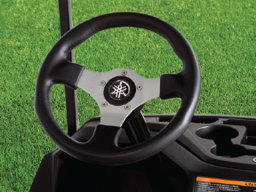 "Steering Wheel (13.5"" Vinyl/Suede)"