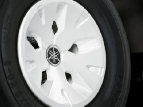 White Wheel Covers