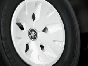 White Wheel Covers