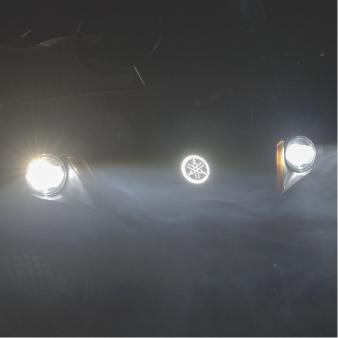 LED Tuning Fork Logo