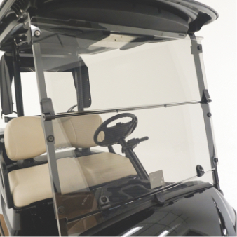 Polycarbonate Windshield, Tinted Hinged