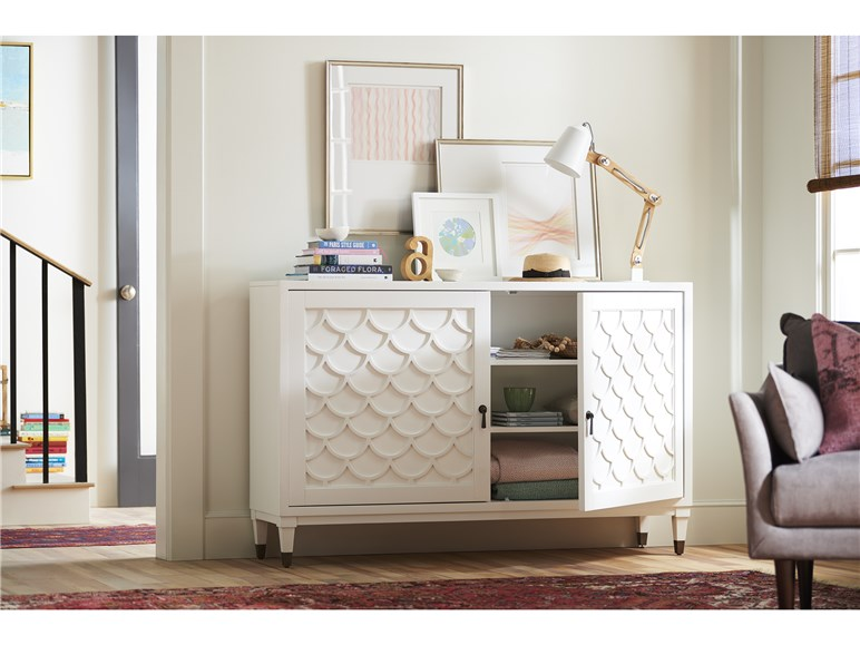Scalloped Sideboard